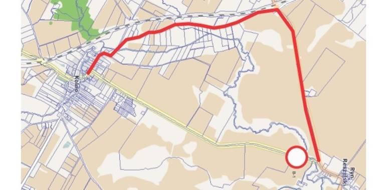 Zamknięcie drogi powiatowej Nr 1495N relacji Ryn Reszelski - Kolno
