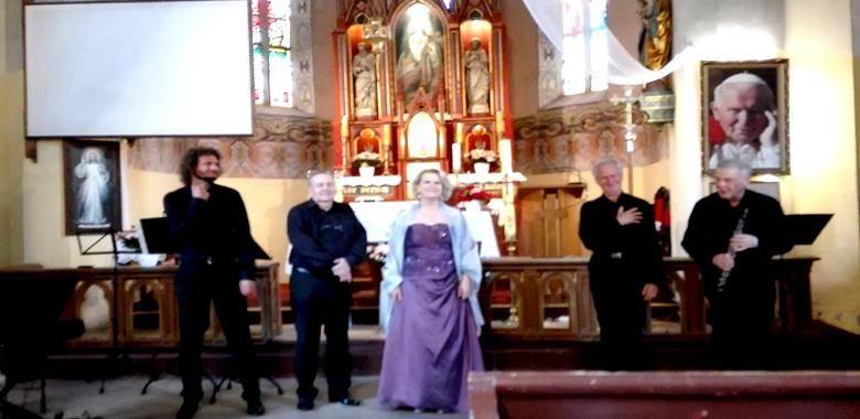 W Kościele w Lutrach odbył się koncert muzyki kameralnej w wykonaniu Zespołu Pro Musica Antiqua